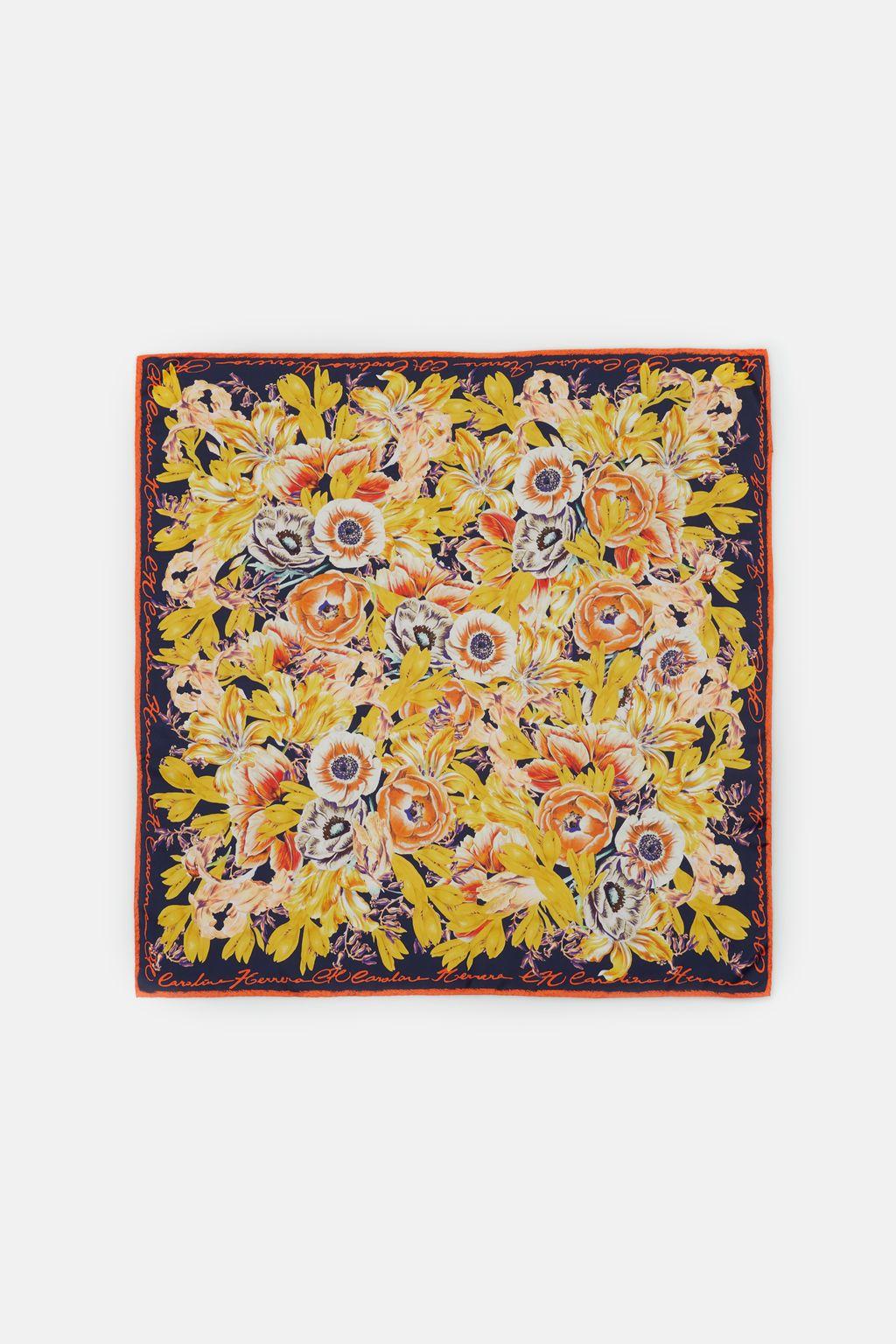 Versailles silk scarf