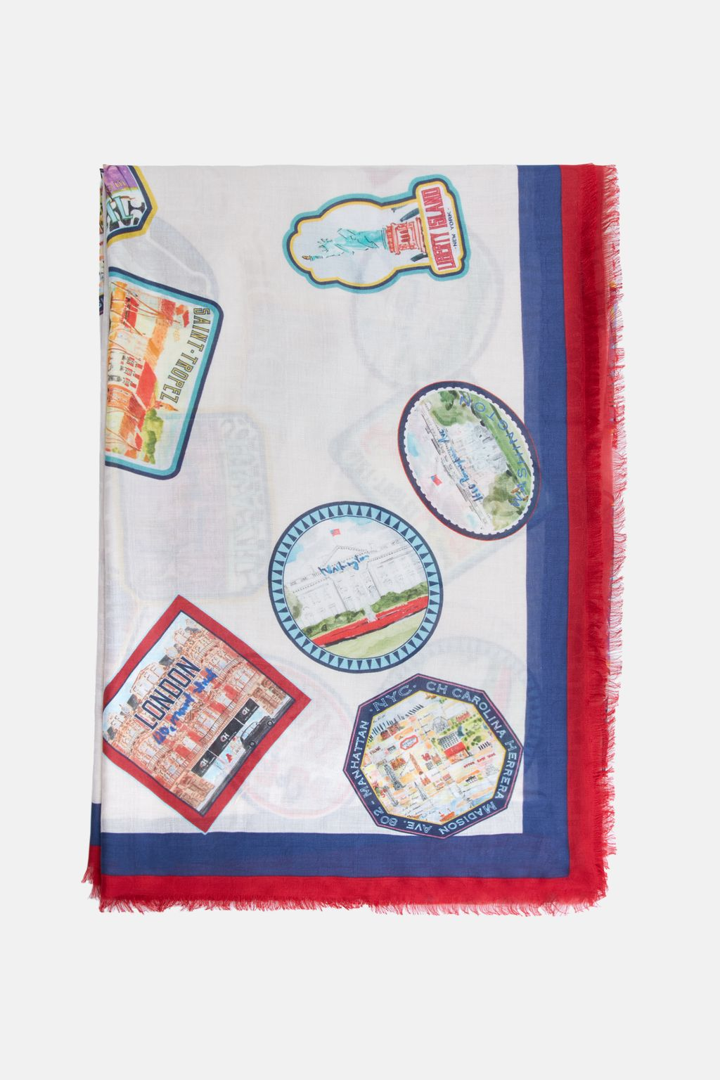 CH City Patches pashmina