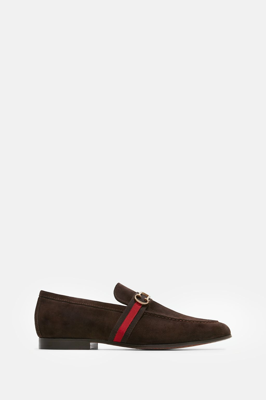 Insignia suede loafers