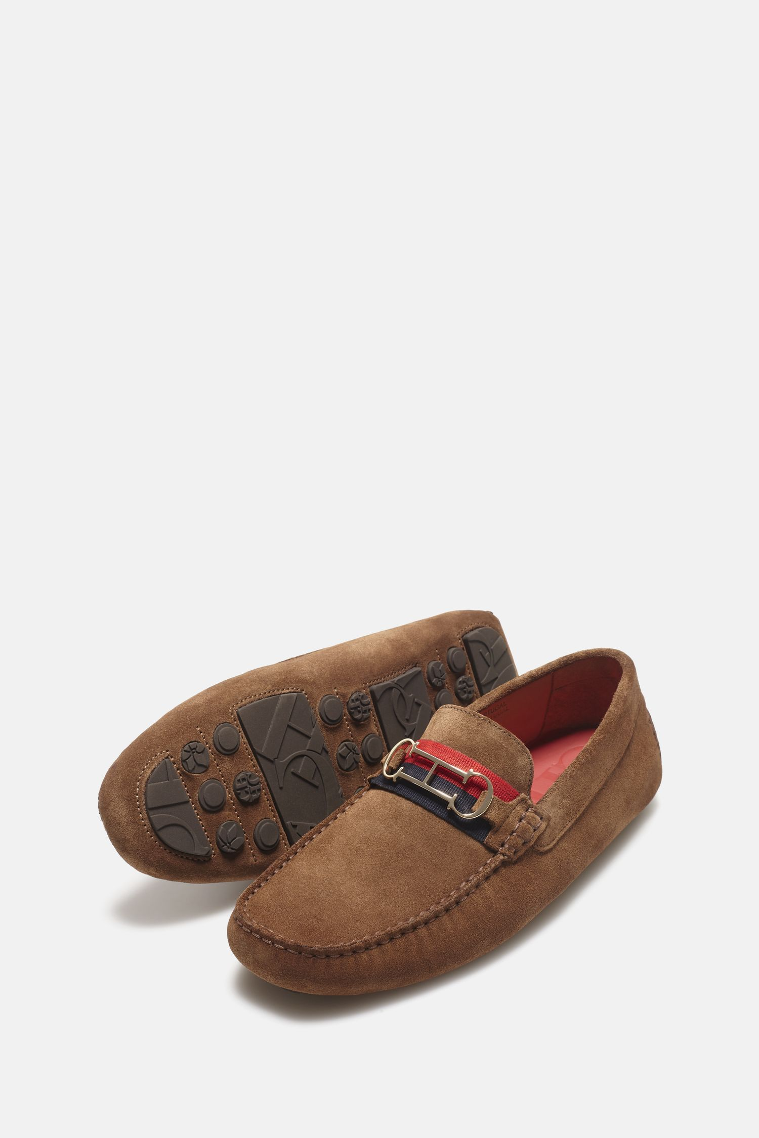 Insignia suede driver loafers