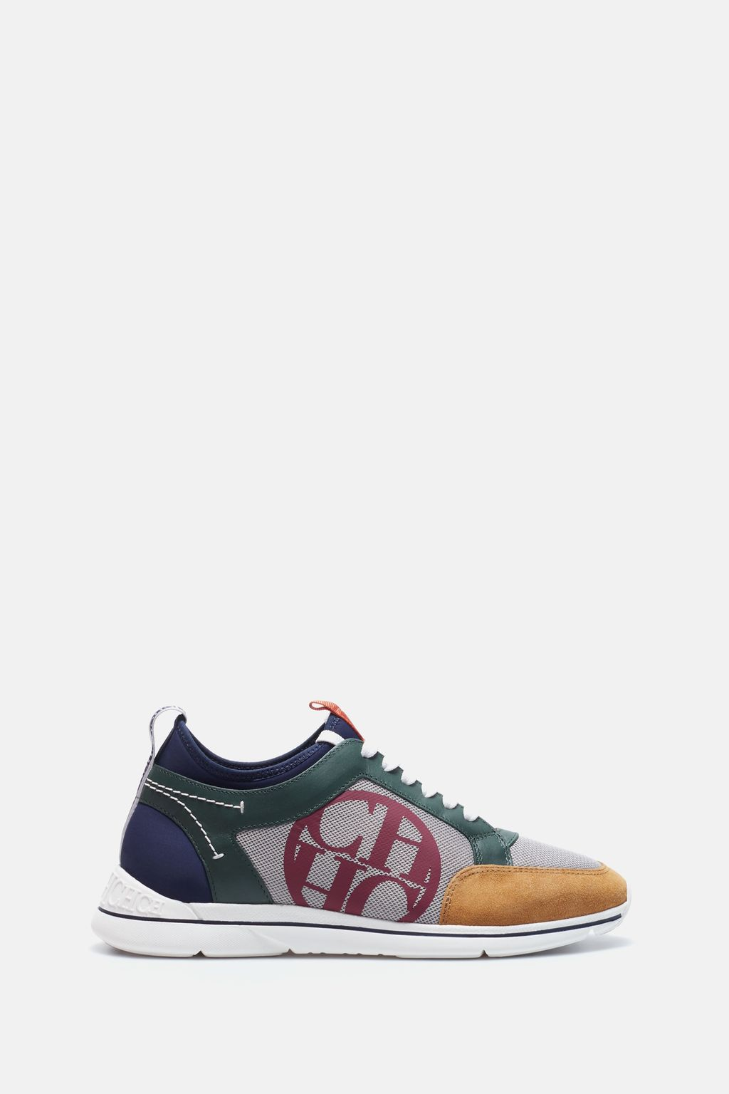CH Medal Napal leather and neoprene sneakers