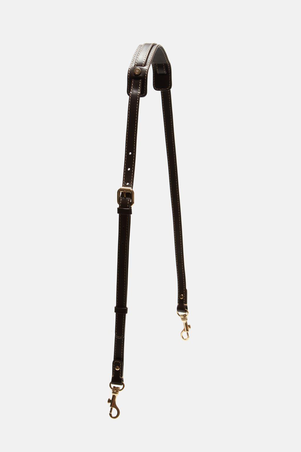 Adjustable leather strap
