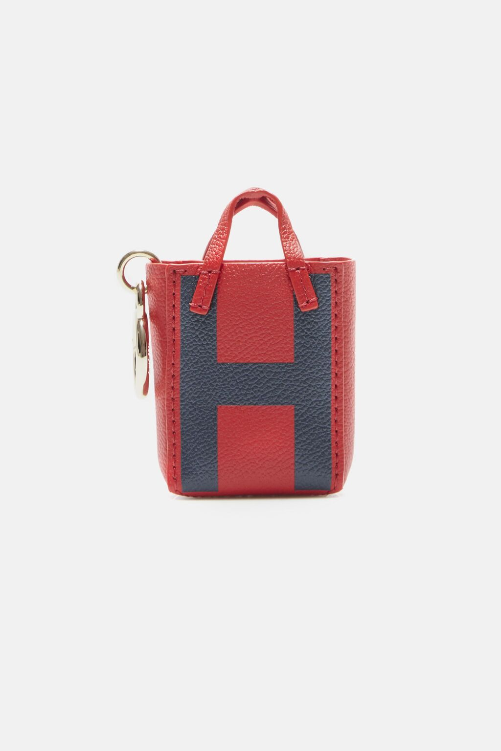 Letter H tote bag charm