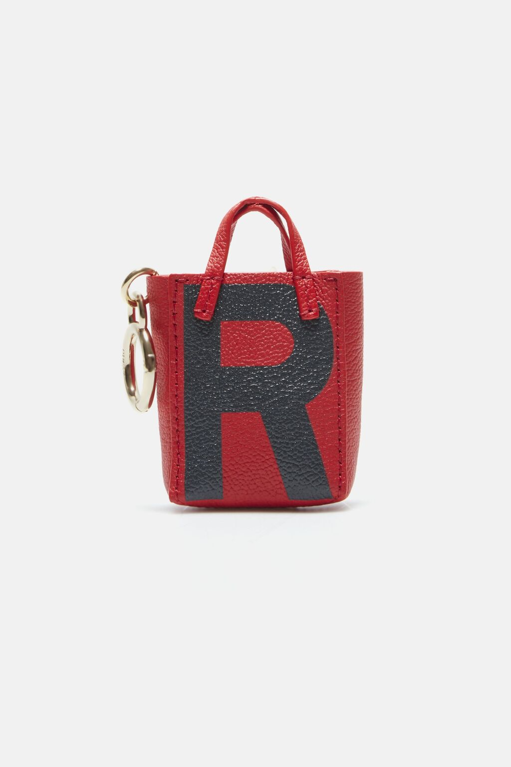 Letter R tote bag charm