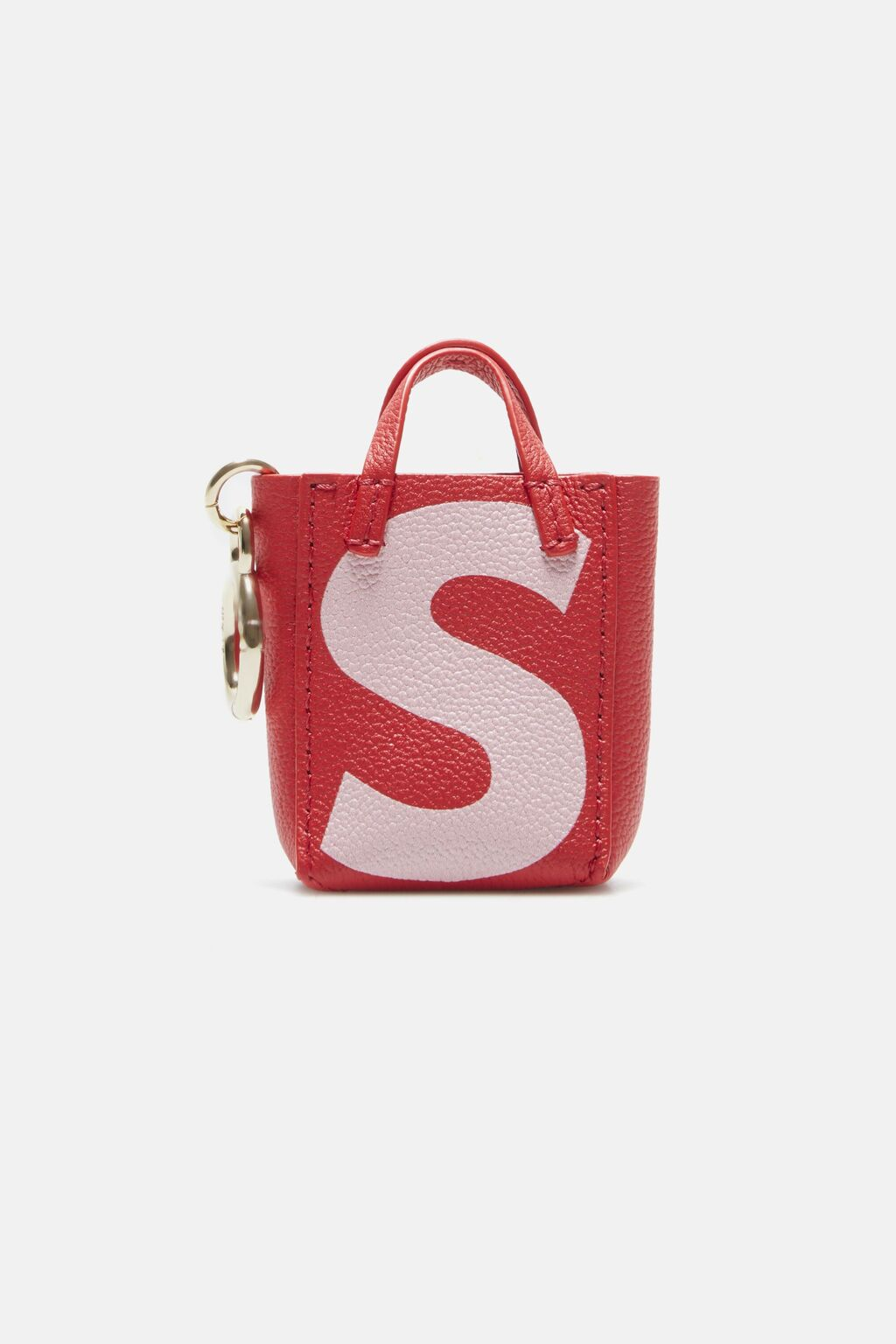Letter S tote bag charm