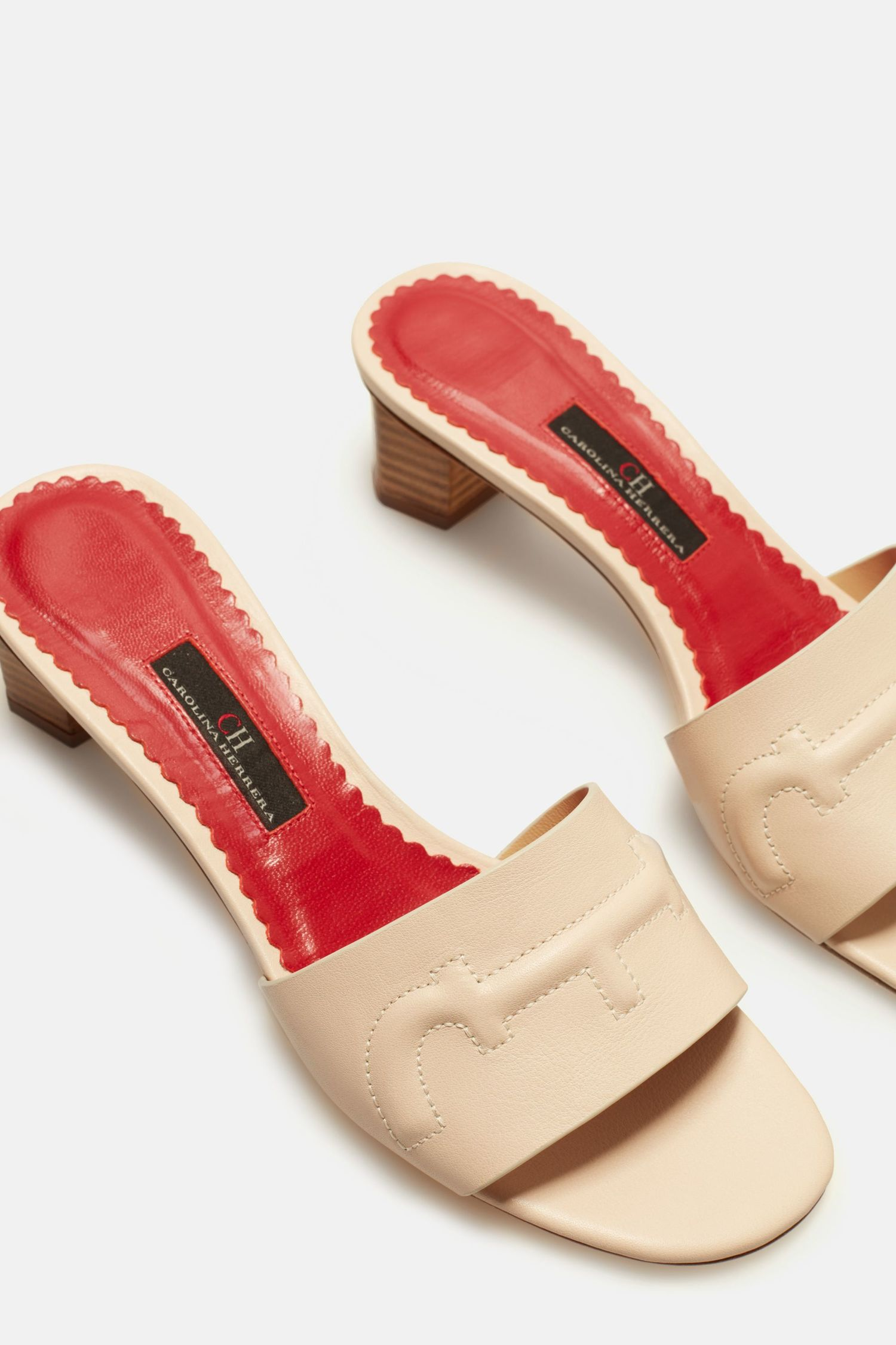 Doma Insignia Leather Sandals