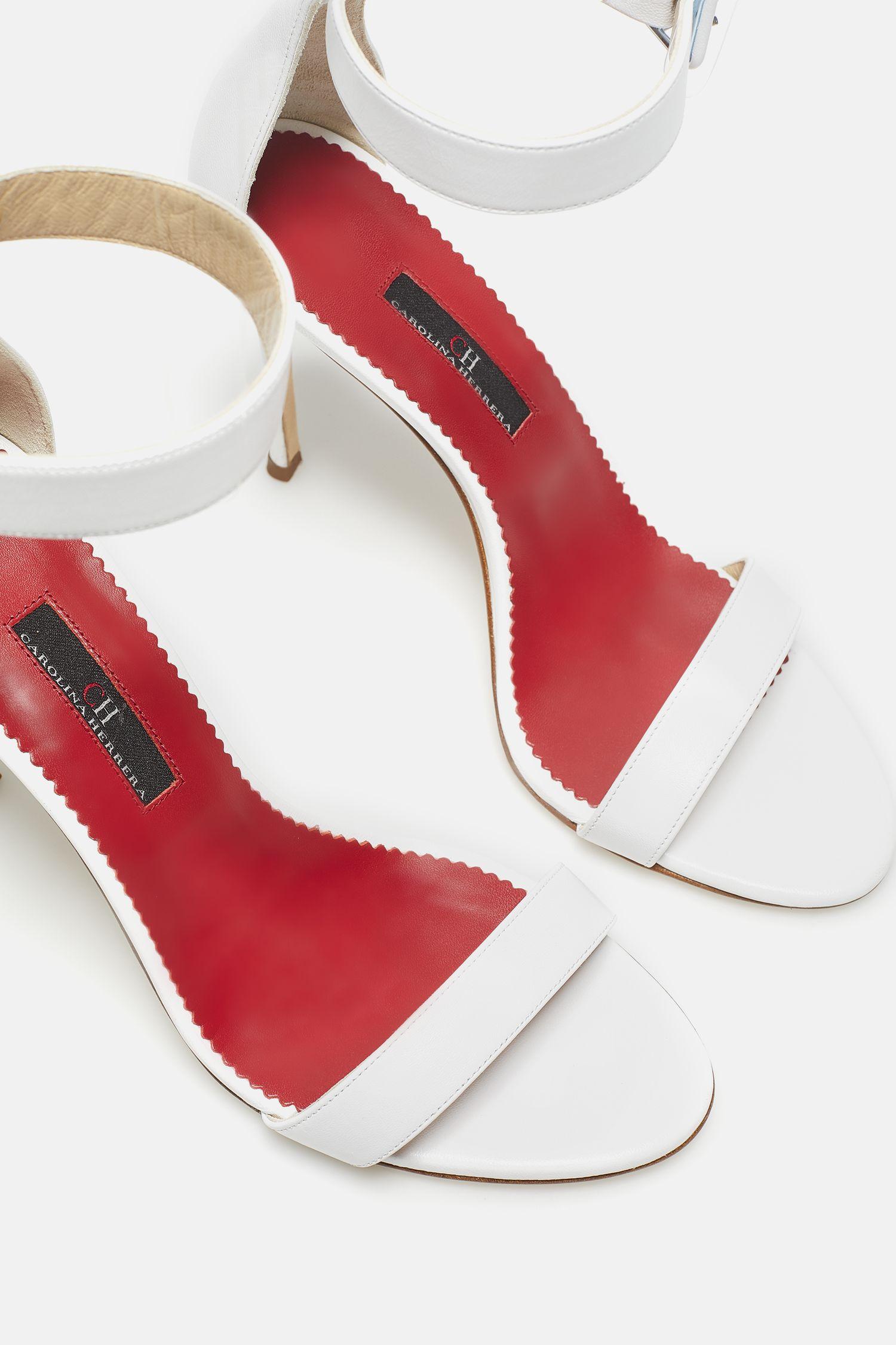 Sandalia de napa