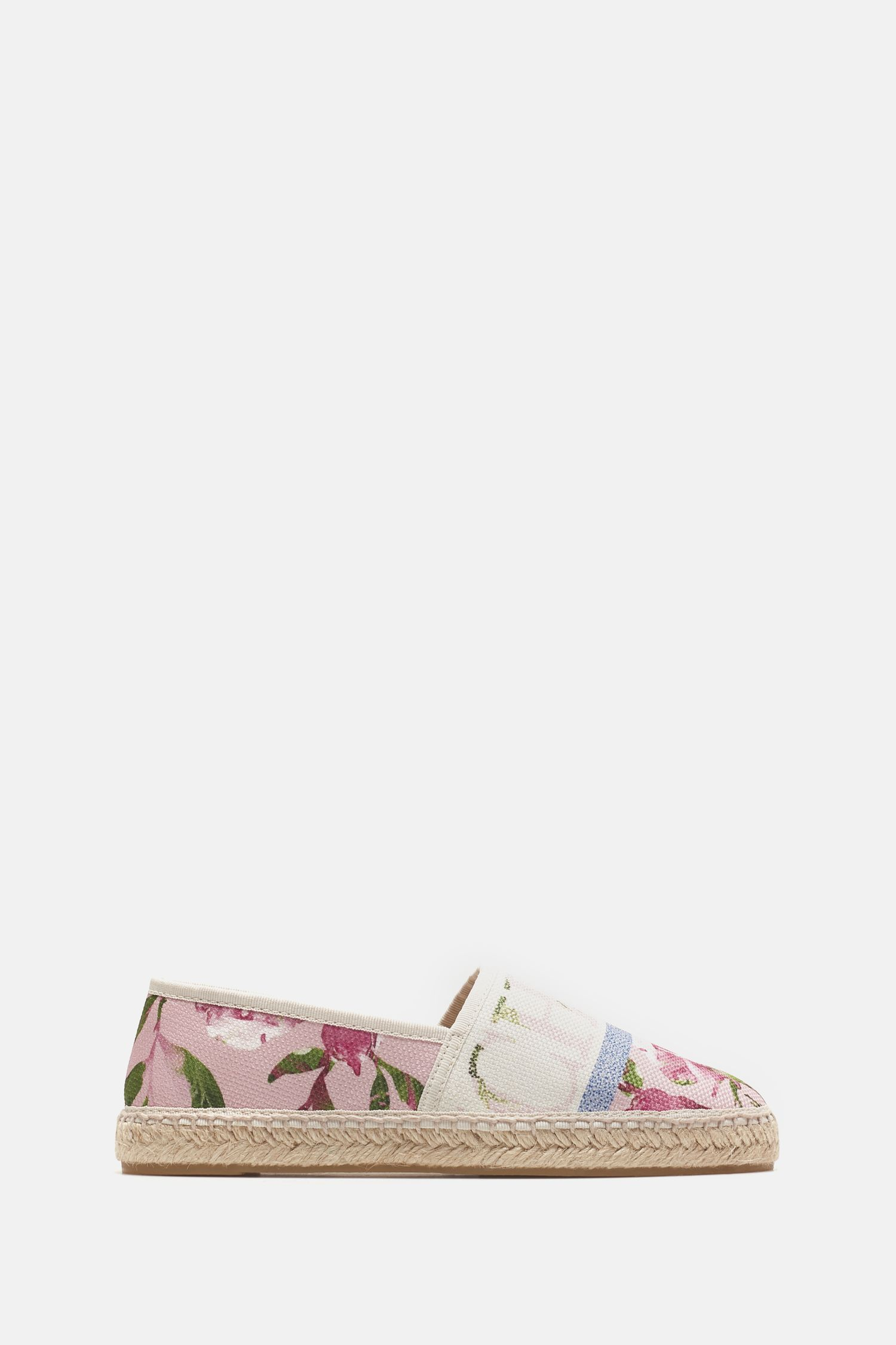 CH in Bloom canvas espadrilles