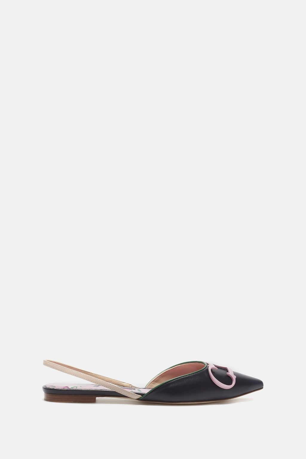 CH in Bloom slingback flats